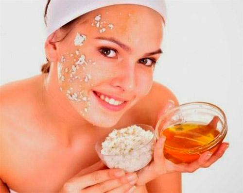 желатиновая маска с медом