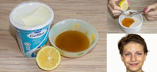 фото рецепт маски с йогуртом
