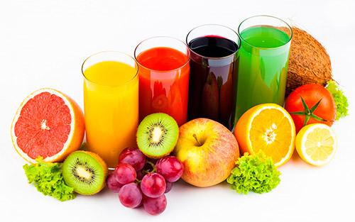 фрукты соки
