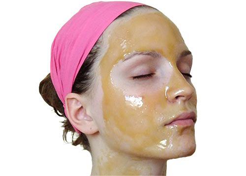 оливкое масло на лице