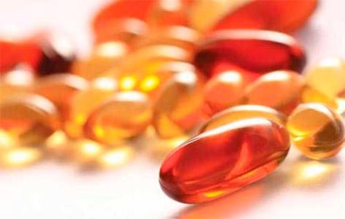 капсулы с витаминами