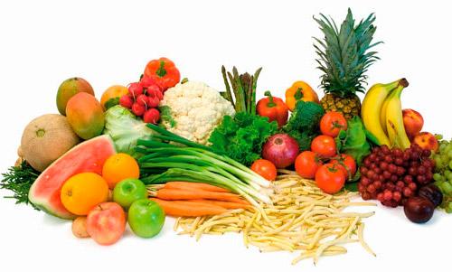 овощи-фрукты с витамином А