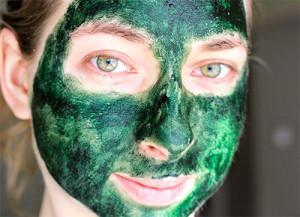 маска для лица на основе спирулины